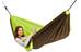 La Siesta Colibri hangmat gevoerd groen/bruin